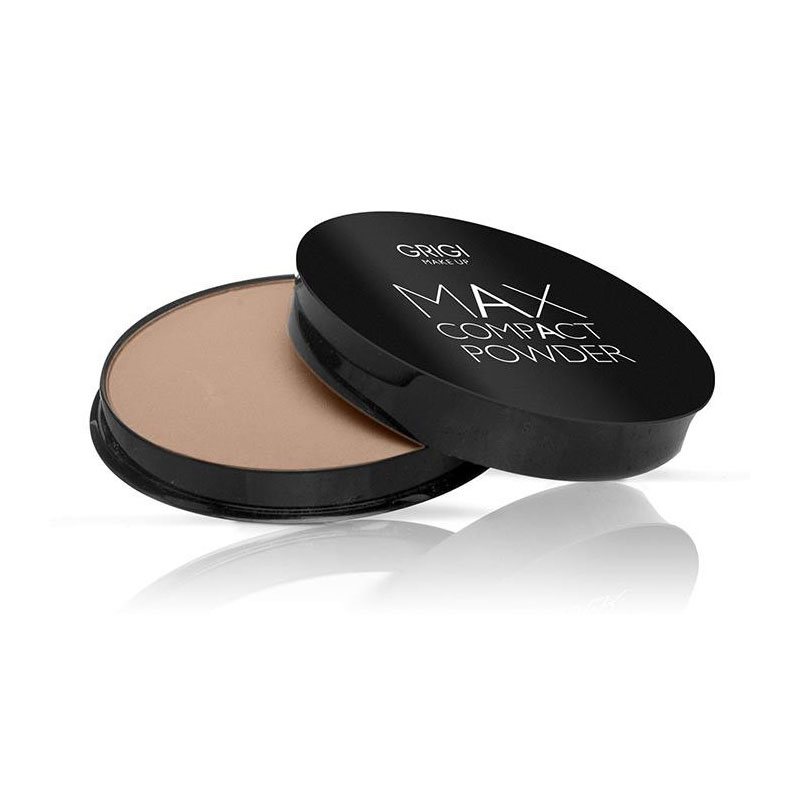 GRIGI MAKE-UP MAX COMPACT POWDER-04 PINK BEIGE