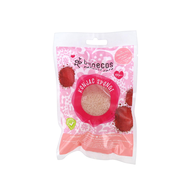 Konjac Sponge - With Red Clay